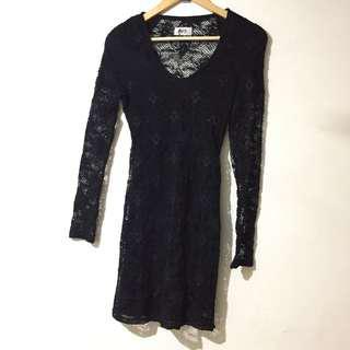 Nightcap Black Dress