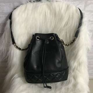 Authentic cappaci bucket bag