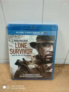 Lone Survivor - Blu Ray & DVD - US Import (original)