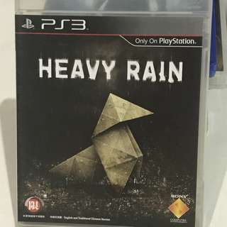 PS3 Heavy Rain playstation 3