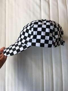 Forever 21 Checkered Baseball Cap