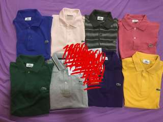 LACOSTE PRE LOVED PM ME FOR DETAILED PIC