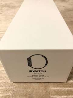 Apple Watch empty box