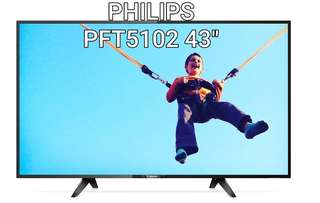 "GSS SALES PHILIPS TV PFT5102 43"" BRAND NEW"
