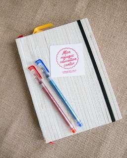 Handsewn A5 notebook #004