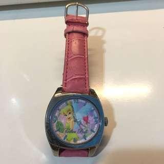 Tinker Bell 仿皮帶手錶
