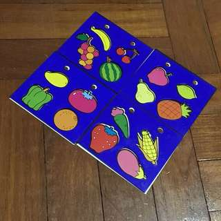 Tracing Fruits (Stationeries)