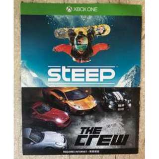 Steep / The Crew Game - Xbox One Digital Download Code
