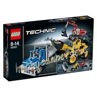 全新 Lego 樂高 Technic 42023 三合一建築團隊