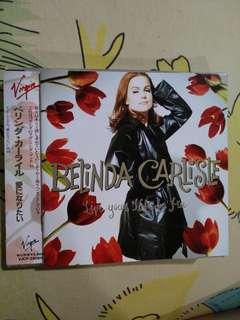 Pop CD - Rare Japan Press Belinda Carlisle Live Your Life Be Free