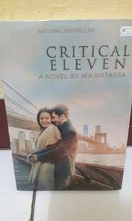 Novel Critical Eleven (Cover Film)
