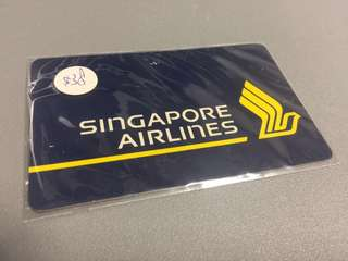 Singapore Airlines phone card $50