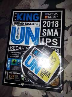 THE KING UN SMA KELAS 12 IPS ( ujian nasional ) + BONUS CD UN FROM BINUS UNIVERSITY