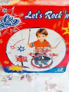 兒童早學爵士鼓