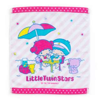 [PO] Sanrio Japan Little Twin Stars Hand Towel Summer Vacations