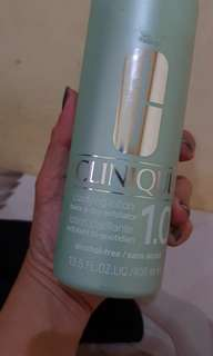 clinique clariying toner for sensi skin
