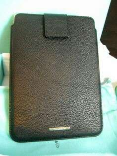 Tiffany & Co I pad case,not Burberry Chanel bv Lv Gucci porter apple