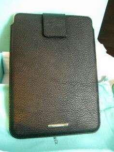 Tiffany & Co I pad case,not Burberry Chanel bv Lv Gucci porter apple