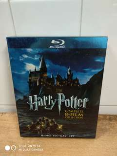 Harry Potter The Complete 8-Film Collection - Blu-ray - US import (original)