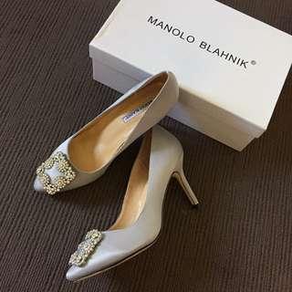 Gray heels size7