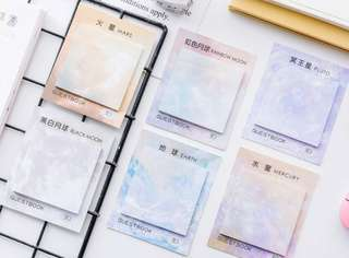 [PO] Square pastel stick note pad
