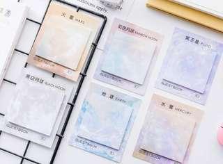 [PO] Square pastel stick note pad