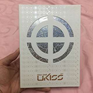 Preloved CD U-Kiss 1st album Only One