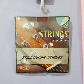 Nikko Acoustic Guitar Strings (4th,5th & 6th only)