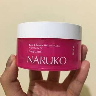 Naruko Rose & Botanic HA Night Gelly