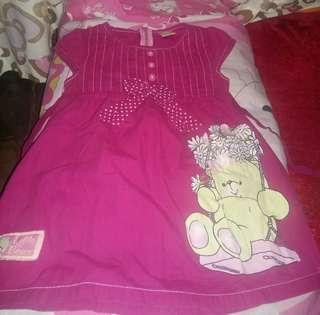 Dress anak umur 1-3 thn