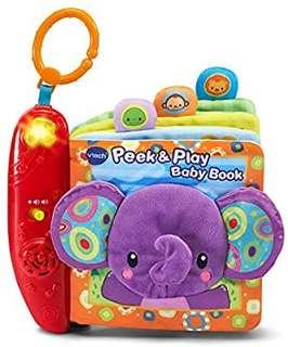 🚚 (Pre-Order)   VTech Peek & Play Baby Book - Purple