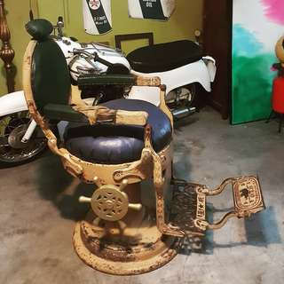 Antique Barbers Chair