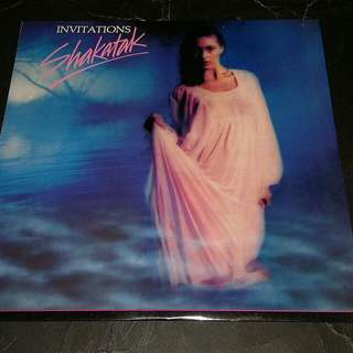 SHAKATAK - INVITATIONS LP RECORD