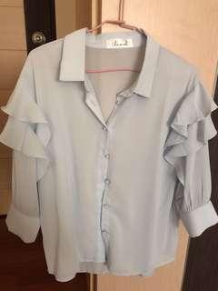 🚚 Chicwish 雪紡襯衫
