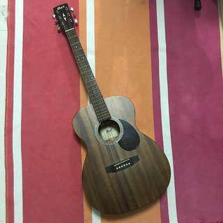 Cort Acoustic Guitar (Very warm resonance)