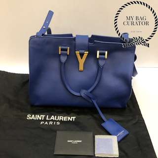 Saint Laurent Cabas Y Ligne Satchel Bag
