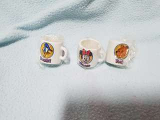 collectables Disney Fest Mini cups