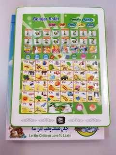 Islamic learning tab, malay, english & arab
