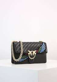 97% NEW PINKO LOVE WINGS BAG