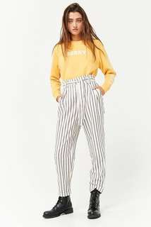 F21 Paperbag trousers