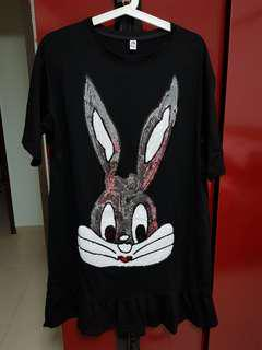 🚚 Please make payment within 24H once payment details given.  No Exchange or refund brand new, Bling bunny, size 3XL $ 30