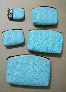 Yogyakarta handmade 5 in 1 pouch