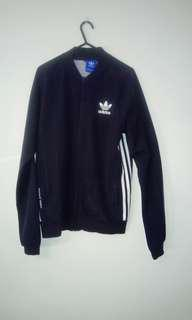 Dark Blue Adidas Zip Jacket