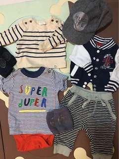Baby boy apparel