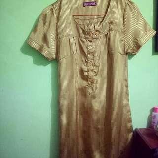 Dress Fashion Gold