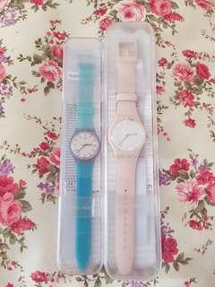 Swatch 全新膠錶