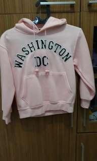 Hoodie jacket asli dr USA buat  anak cewek size M blm pernah dipakai dr beli .
