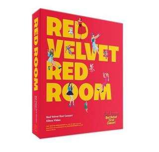 [Preorder] Red Velvet - Red Velvet 1st concert Red Room Kihno Video