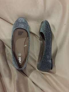 Rubi glitter flat shoes