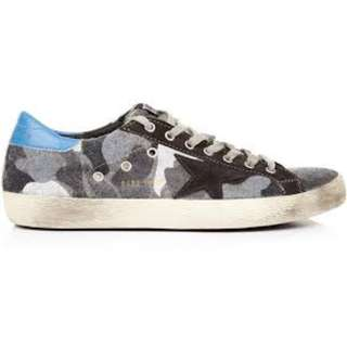 RARE! Golden Goose Suede Camo Superstar Sneakers - Stan Smith Price!